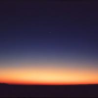 Morgenstern in der Sahara