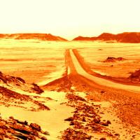 Zeugenberge in der Sahara